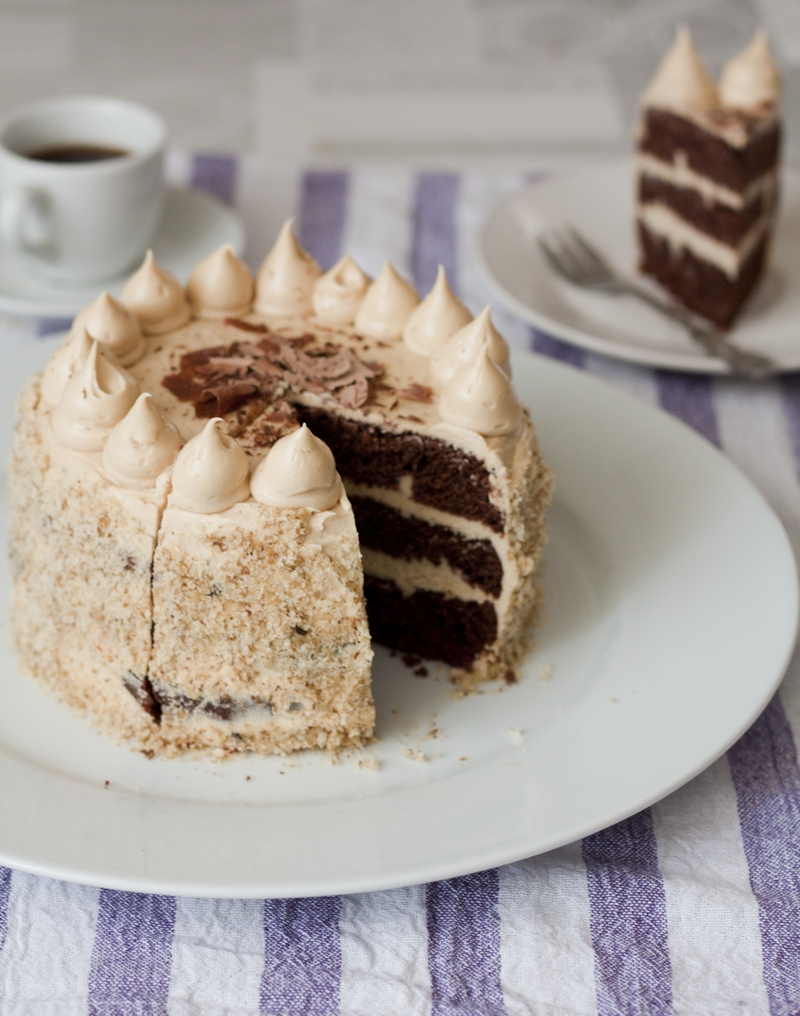 Tamara Novakovic Easy Chocolate Peanut Butter Cake Chocolate Peanut Butter Cake