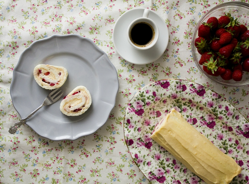 sponge rolles cake Dubrovnik Tamara Novakovic recipe