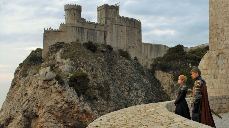 red keep dubrovnik lovrijenac fort game of thrones filming locaton