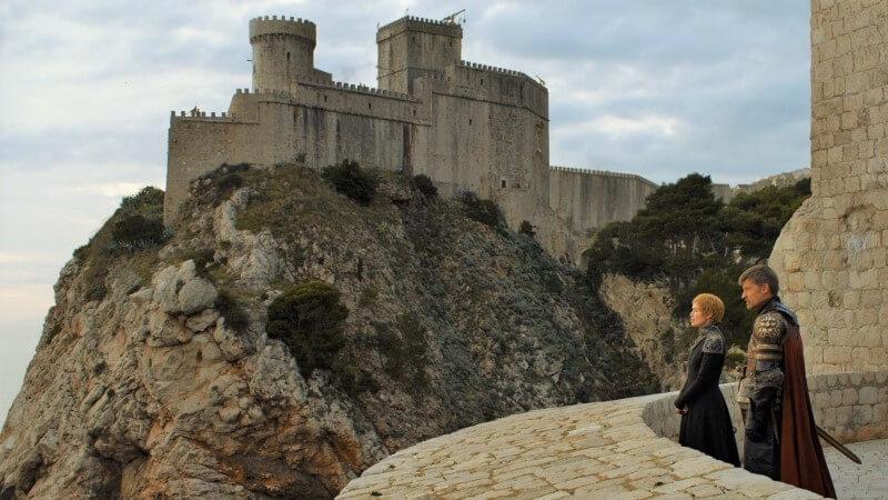 red keep dubrovnik lovrijenac fort game of thrones filming locaton