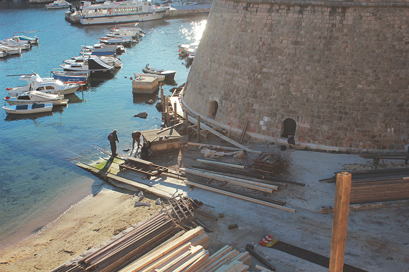 Robin Hood in Dubrovnik Filming location Leonardo DiCaprio Work in progress