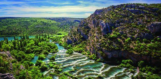 National Park Krka Croatia Cover