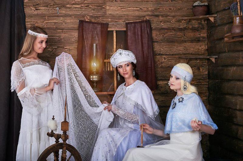exhibition Russia Dubrovnik Orenburg, lace world heritage