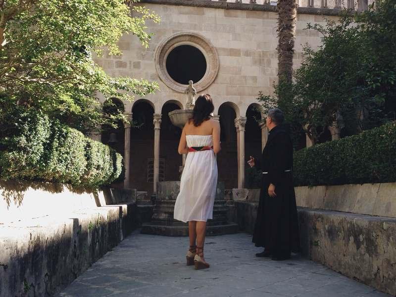 cream rose Dubrovnik Old Town pharmacy beauty Josipa Dragun blogger monastery