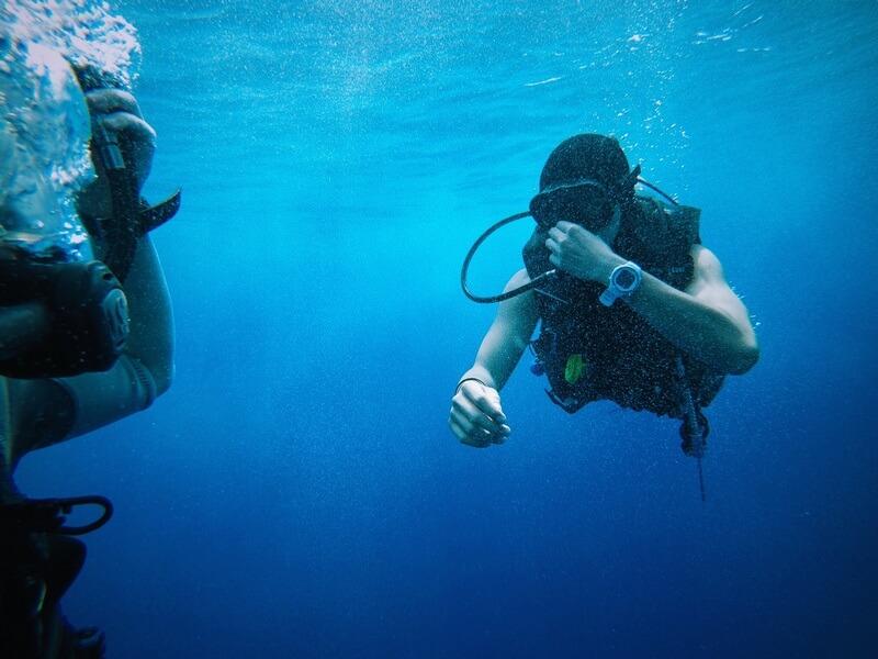 scuba diving in Dubrovnik