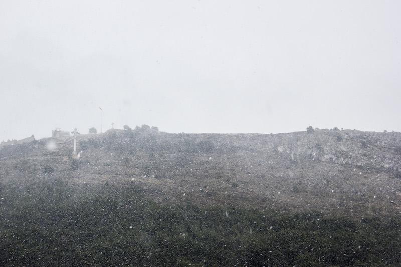 snijeg dubrovnik