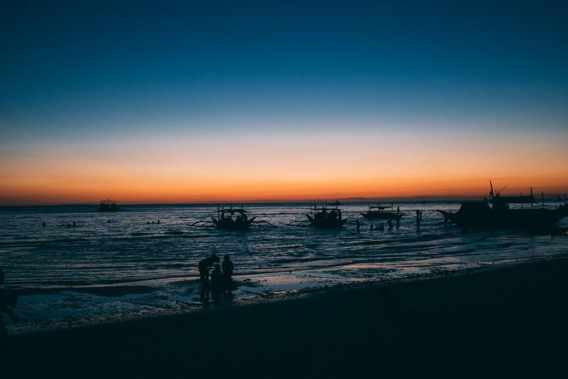 Philippines sunset travel diary Ivan Vukovic