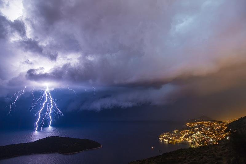 Storm Dubrovnik Weather in Winter
