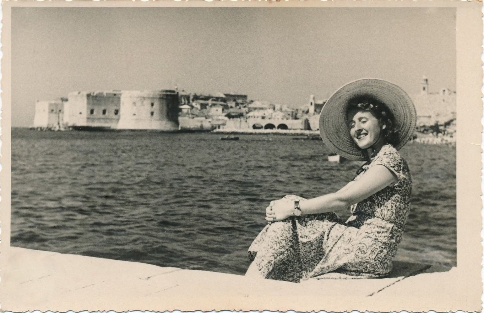 dubrovnik vintage summer time