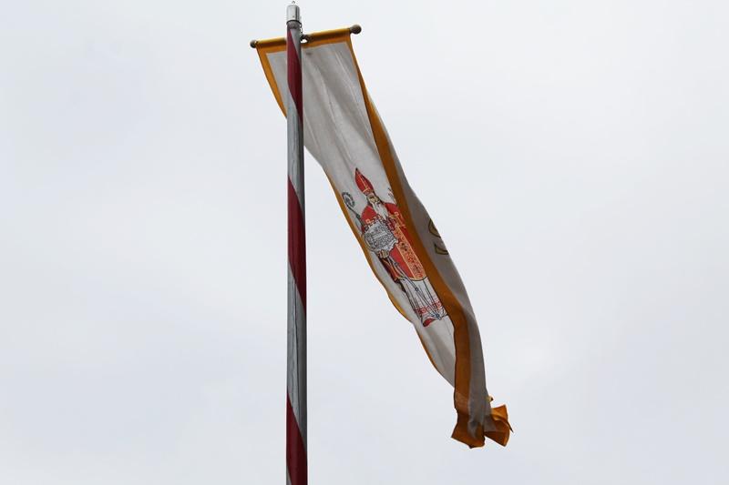 katedrala procesija Zatvaranje Festa sv. Vlaha Dubrovnik zastava