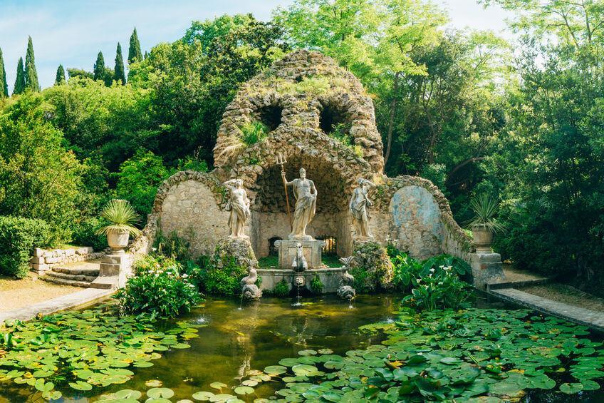 trsteno arboretum game of thrones tyrell garden