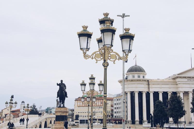 arhitektura mostovi Putovanje TZ Skoplje Makedonija