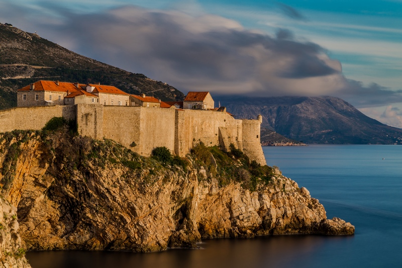 fall in dubrovnik