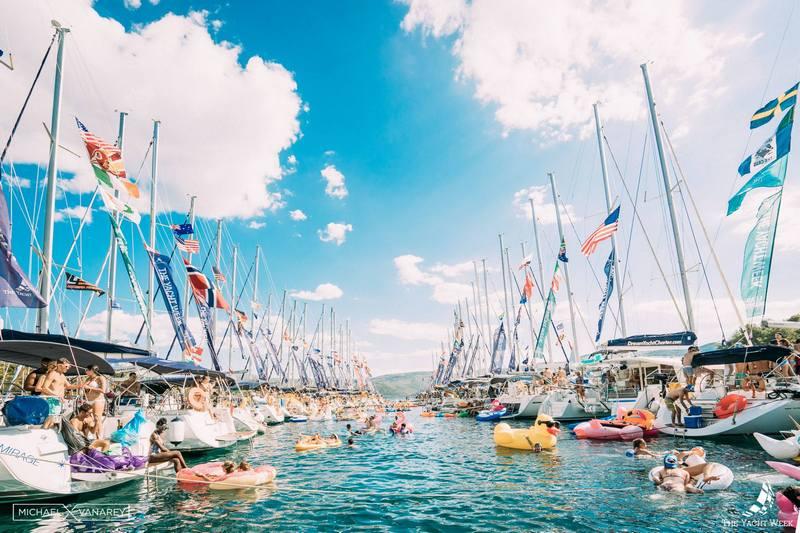 yacht week Croatia summer Dubrovnik GoDubrovnik