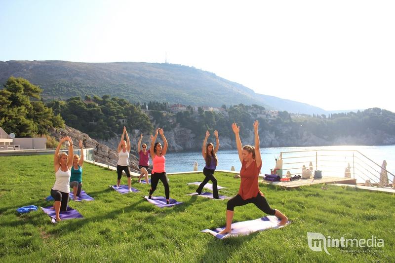Yoga Rixos hotel workout